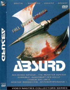 absurd cover dvd