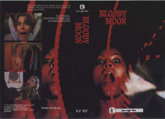 1981 - Bloody Moon (A)(VHS)