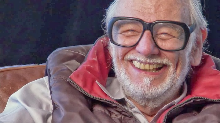 george romero smiling ,romero interview, birth of the living dead DVD release,