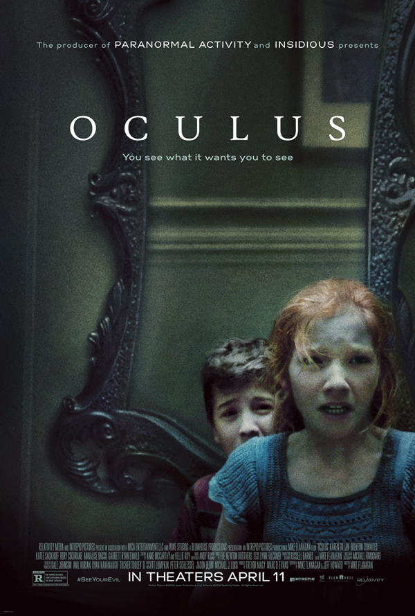 Oculus review and poster