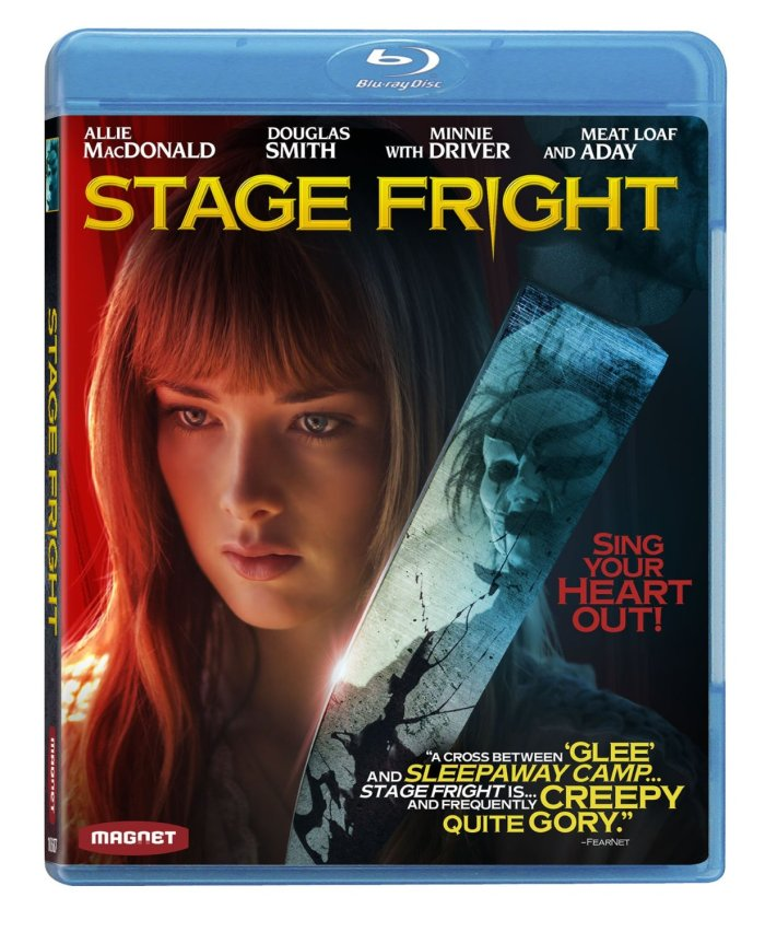 Stage Fright 2014 Blu-ray cover