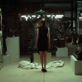 Oculus Karen Gillen confronts the haunted mirror