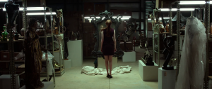 Oculus Karen Gillen confronts the haunted mirror