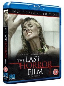 The Last Horror Film (1982) Blu-ray Cover