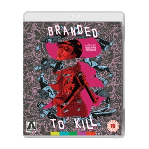 Branded to Kill UK Blu-ray Cover Arrow Films