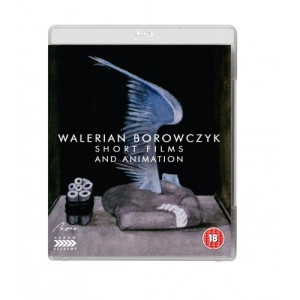 Borowczyk Shorts blu ray cover