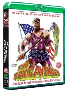 toxic avenger blu ray cover