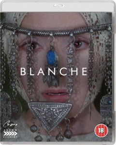 arrow video blanche blu ray cover