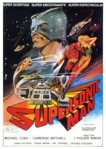 supersonic man poster